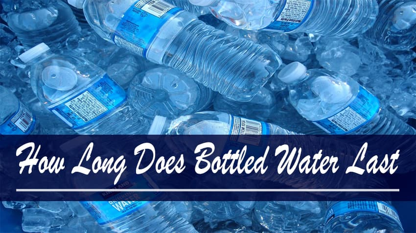 how long does bottled water last opened