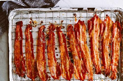 can i cook frozen bacon in the oven